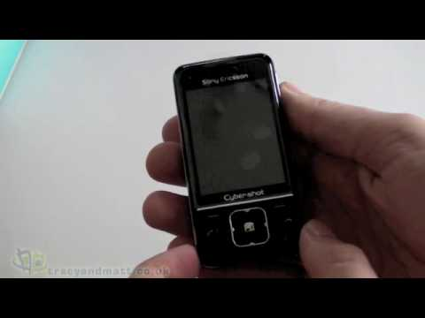 Sony Ericsson C903 unboxing video