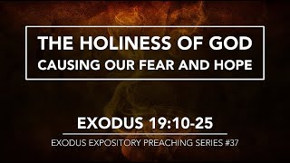 THE HOLINESS OF GOD CAUSING OUR FEAR AND HOPE - Pastor Billy Jung (Hope of Glory)
