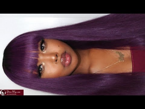 HOW TO CUT BANGS ON A LACE WIG - DIVASWIGS
