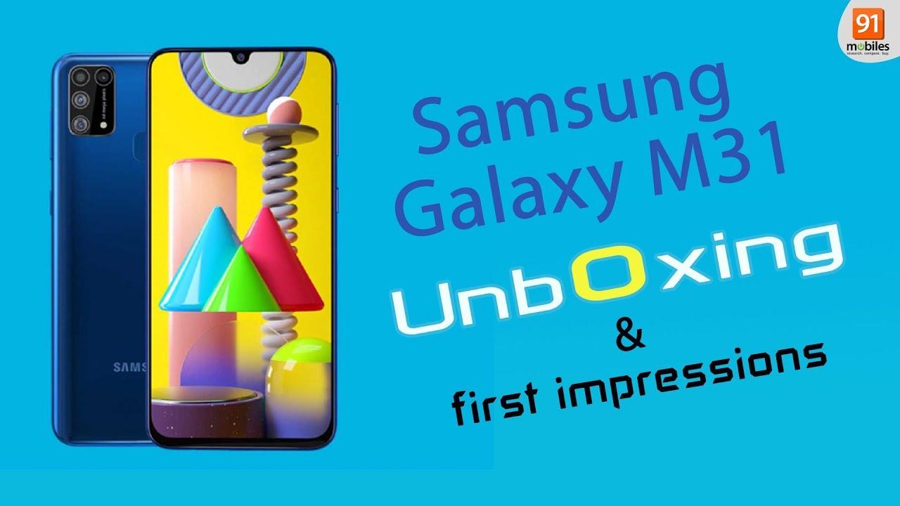 Samsung Galaxy M31: Unboxing | Hands on | Price Hindi हिन्दी