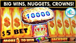 BIG WINS ON LINK GAMES! Spin It Grand Slot Machine and Lock it Link! Eureka, Loteria, and more!