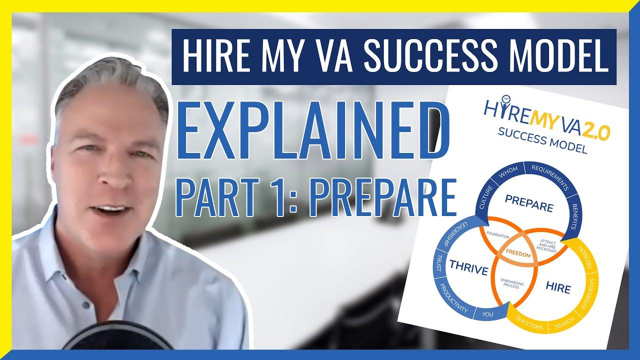 "HireMyVA Podcast 83- Can you Explain the HireMyVA ""Success Model""? (Part 1 - PREPARE)"