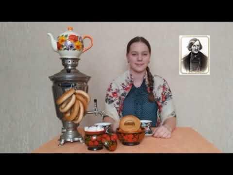 Изображение предпросмотра прочтения – ДарьяГаврилина читает отрывок изпроизведения «Старосветские помещики» Н.В.Гоголя