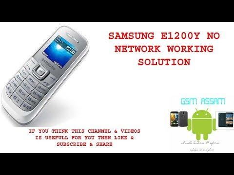 Samsung 1200Y Low Network No Network Solution