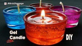DIY How to make Gel Candles | JK Arts 1089