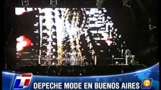 Depeche Mode Hole To Feed Buenos Aires TN La Viola Pro Shot Multicam