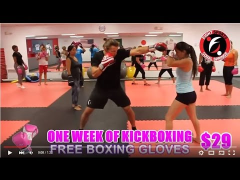 cardio kickboxing class in coral springs