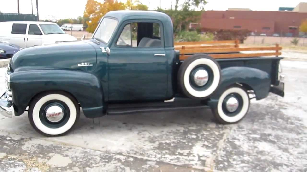 1953 Chevrolet 3100 Pickup Truck, Frame Off Restored, V8 ...