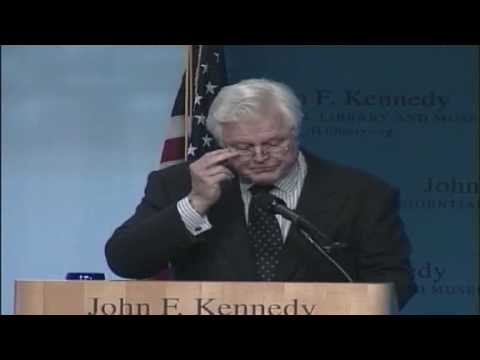 Ted Kennedy - Emotional Speech About Bobby (JFK Library)