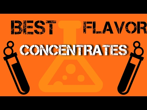 DIY E Liquid Top 5 Best Flavor Concentrates