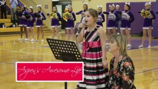 Young Girl Stuns Crowd with National Anthem Performance Better Than Fergie
