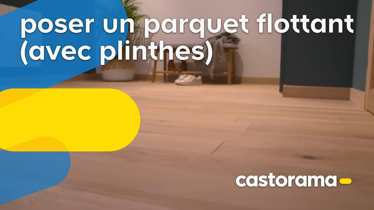 comment poser du parquet flottant castorama youtube. Black Bedroom Furniture Sets. Home Design Ideas