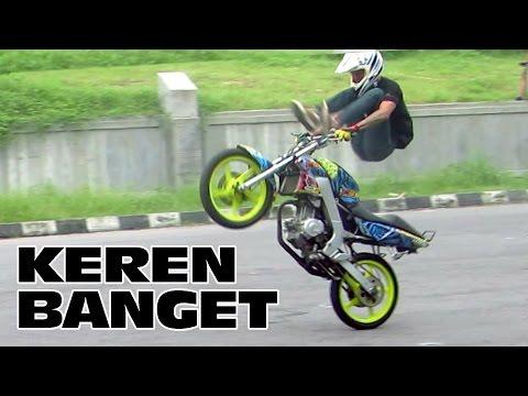 Jogja Xtreme Riders - Atraksi Motor Freestyle Keren di Maguwoharjo (Yamaha Vixion Freestyle)