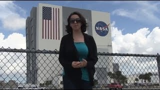 Touring the VAB at Kennedy Space Center - Vehicle Assembly Building tour