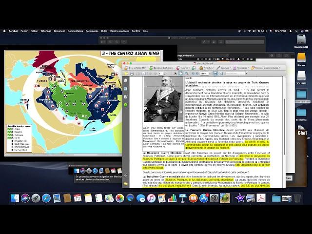E- Réflexion autour de Guerre Iran USA - Albert Pike - Dajjal - Mahdi The Economist...