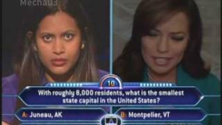 """""""That was just in time.."""" - Who Wants to be a Millionaire [Old Format]"""