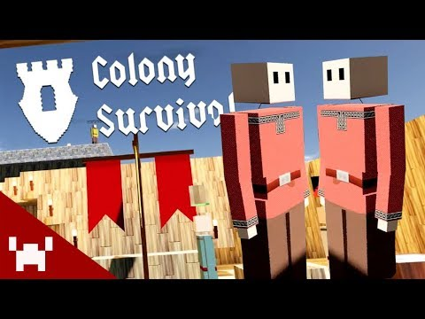 WE'RE BREAKING UP | Colony Survival w/ Ze, Chilled, & GaLm #2