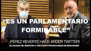 ¡REVERTE HACE ARDER TWITTER POR SU HALAGO A TONI CANTÓ!