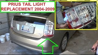 Toyota Prius Tail Light Removal and Replacement. Toyota Prius XW20 2004 - 2009