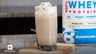 Birthday Cake Protein Shake Recipe