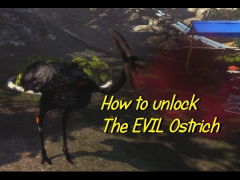 Goat Simulator How To Unlock The Devilevil Feather Goat Ostrich