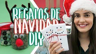 5 REGALOS de NAVIDAD hechos a mano [DIY fáciles y rápidos] | Mariana Clavel