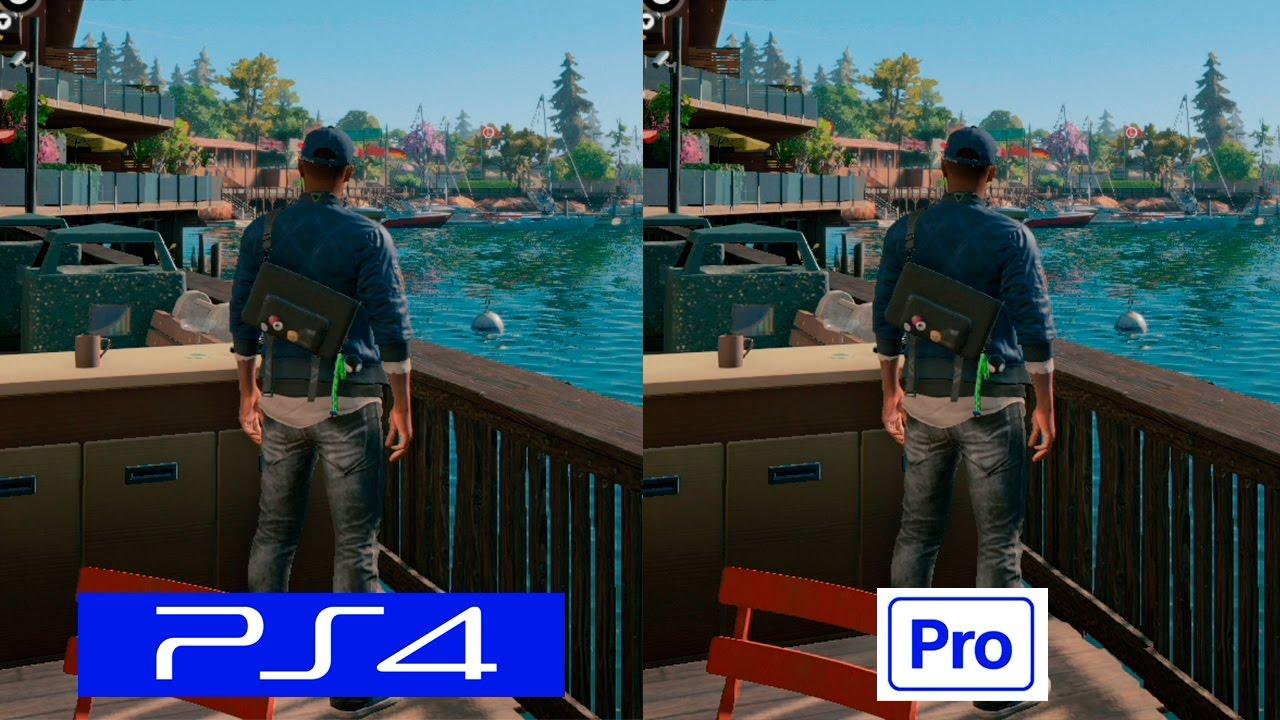 Watch Dogs 2 | PS4 VS PS4 PRO | GRAPHICS COMPARISON | Comparativa