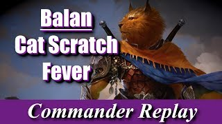 Balan Wandering Knight Cat Scratch Fever vs First Sliver not slivers Progenitus Feather