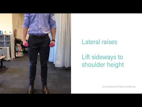 Deltoid exercises for shoulder strength