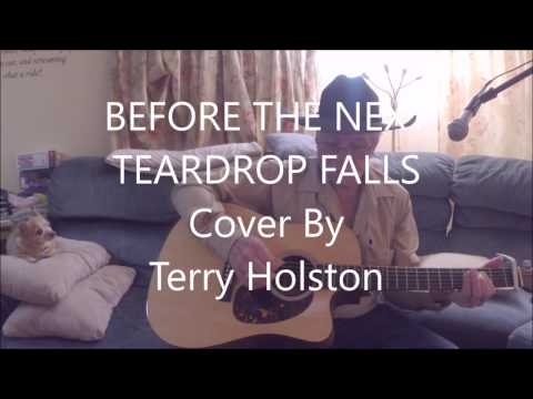 Before the Next Teardrop Falls Using Key of E Chords