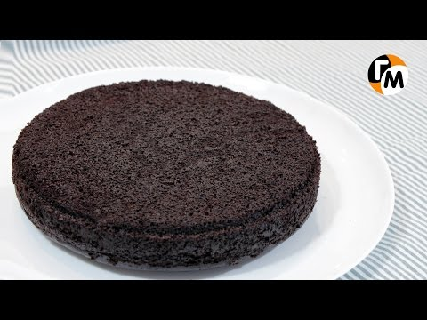 Идеальный шоколадный бисквит | Как приготовить шоколадный бисквит -- Голодный Мужчина, Выпуск 88