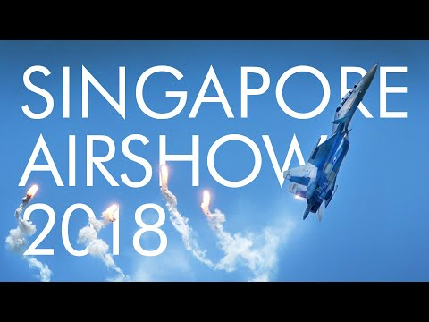 Singapore Airshow 2018 Aerobatic Flying Display Highlights (DAY1)