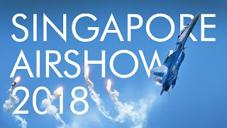 Singapore Airshow 2018 Aerobatic Flying Display Highlights (DAY1)