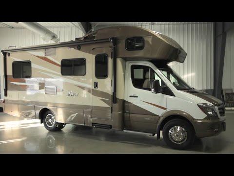 New Winnebago View Motorhome features by Adventure RV in West Fargo ND