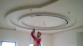 Многоуровневые потолки из гипсокартона – видеоотчет(Заказать монтаж гипсокартона можно тут – http://Xaltyre.net В этом ролике я показываю результат своей работы по..., 2015-06-17T23:55:45.000Z)