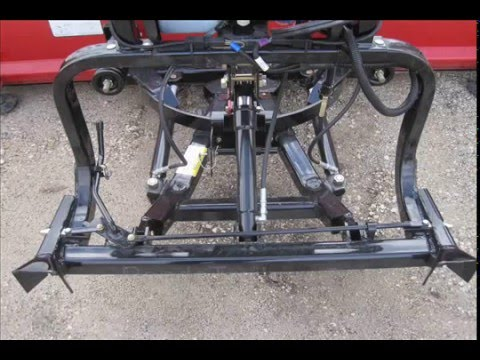 Hiniker Quick Hitch 1 snow plow mounting system QH1 on