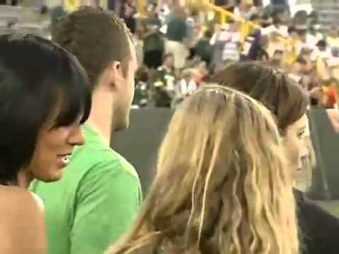 October 07,2007 Justin Timberlake   Jessica Biel At The Packers Bears Game