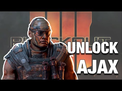 BLACKOUT   UNLOCK CHARACTER   AJAX   CALL OF DUTY BO 4