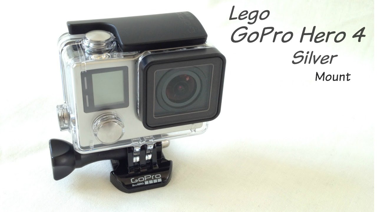 Lego Gopro Hero4 Silver Mount With Instructions Youtube
