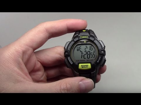 2a4155cf5b77 TIMEX IRONMAN TRADITIONAL 30-LAP RUGGED MEN S WATCH REVIEW MODEL  T5K7909J  - YouTube