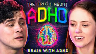 I spent a day with people w/ ADHD