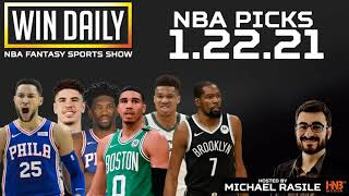 Win Daily: NBA 1.22.21 DFS & Betting Picks | Hosted by @MichaelRasile1