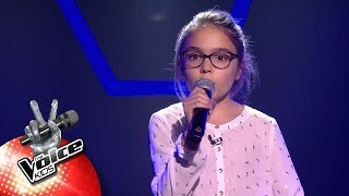 Jools - 'Hit The Road Jack'   Blind Auditions   The Voice Kids   VTM