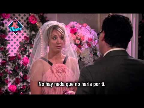 The Big Bang Theory - 9x01 Penny & Leonard votos matrimoniales (Subtitulado)