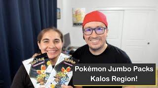 Pokémon Kalos Region 25th Anniversary Jumbo Packs