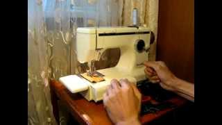 Sewing machine Швейная машина Lewenstein Compacta 6 Германия test атлас, кожзам, кожа