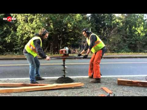 Funny Street Workers
