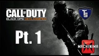 Call of Duty Black Ops Declassified Campaign Pt.1