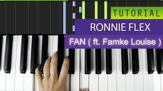 ronnie flex fan ft famke louise piano tutorial karaoke midi