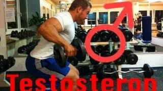 Wie kann ich meine körpereigene Testosteron-Produktion steigern?